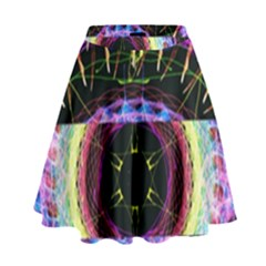 The Existence Of Neon High Waist Skirt by TheExistenceOfNeon2018