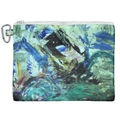 June Gloom 5 Canvas Cosmetic Bag (xxl) by bestdesignintheworld