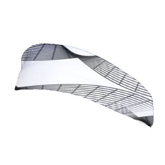 Curves Pattern Black On White Stretchable Headband