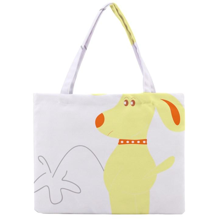 Mutt Dog Animal Domestic Vector Mini Tote Bag