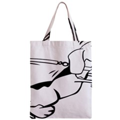 Dog Leash Lead Running Animal Classic Tote Bag