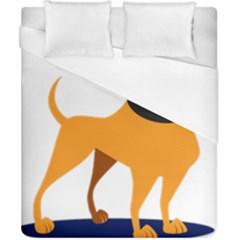 Stub Illustration Cute Animal Dog Duvet Cover (california King Size)