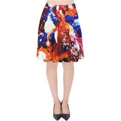 Smashed Butterfly 1 Velvet High Waist Skirt by bestdesignintheworld