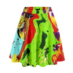 Untitled Island 3 High Waist Skirt by bestdesignintheworld