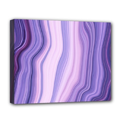 Marbled Ultra Violet Deluxe Canvas 20  X 16   by 8fugoso