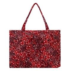 Sweet Cherries Medium Tote Bag by eyeconart