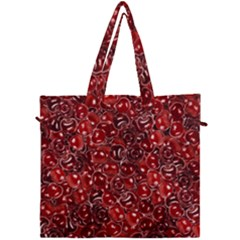 Sweet Cherries Canvas Travel Bag by eyeconart