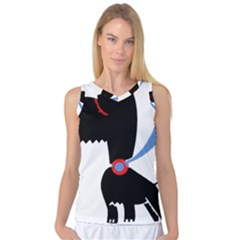 Dog Scottish Terrier Scottie Women s Basketball Tank Top