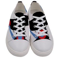 Dog Scottish Terrier Scottie Women s Low Top Canvas Sneakers