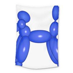 Poodle Dog Balloon Animal Clown Small Tapestry