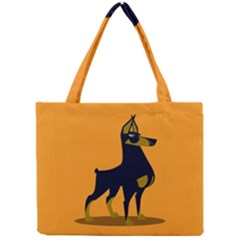 Illustration Silhouette Art Mammals Mini Tote Bag