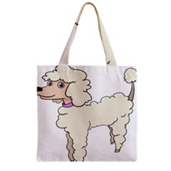Poodle Dog Breed Cute Adorable Grocery Tote Bag