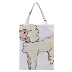 Poodle Dog Breed Cute Adorable Classic Tote Bag