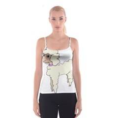 Poodle Dog Breed Cute Adorable Spaghetti Strap Top