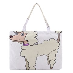 Poodle Dog Breed Cute Adorable Medium Tote Bag
