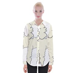 Poodle Dog Breed Cute Adorable Womens Long Sleeve Shirt