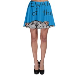 Cat Print Paw Pet Animal Claws Skater Skirt