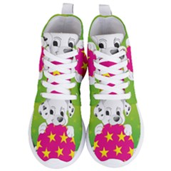 Dalmatians Dog Puppy Animal Pet Women s Lightweight High Top Sneakers