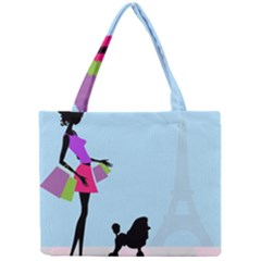 Woman Girl Lady Female Young Mini Tote Bag