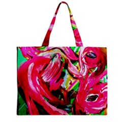 Flamingo   Child Of Dawn 5 Zipper Mini Tote Bag by bestdesignintheworld
