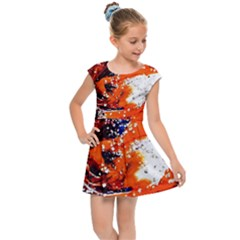 Smashed Butterfly 2 Kids Cap Sleeve Dress