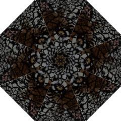 Earth Texture Tiger Shades Folding Umbrellas by LoolyElzayat