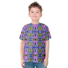 Artwork By Patrick Colorful 48 Kids  Cotton Tee