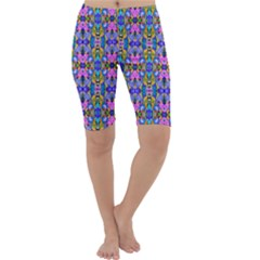 Artwork By Patrick Colorful 48 Cropped Leggings