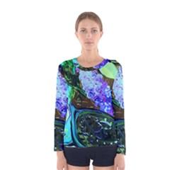 Lilac And Lillies 1 Women s Long Sleeve Tee by bestdesignintheworld
