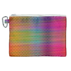Colorful Sheet Canvas Cosmetic Bag (xl) by LoolyElzayat