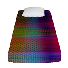 Colorful Sheet Fitted Sheet (single Size) by LoolyElzayat