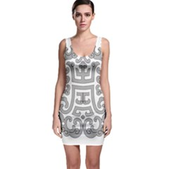 Chinese Traditional Pattern Bodycon Dress