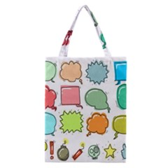 Set Collection Balloon Image Classic Tote Bag