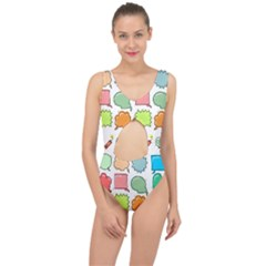 Set Collection Balloon Image Center Cut Out Swimsuit by Nexatart