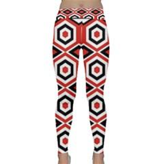 Motif Batik Design Decorative Classic Yoga Leggings