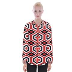 Motif Batik Design Decorative Womens Long Sleeve Shirt