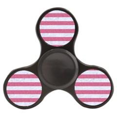 Stripes2white Marble & Pink Denim Finger Spinner by trendistuff