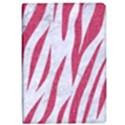 SKIN3 WHITE MARBLE & PINK DENIM (R) iPad Air Flip View1