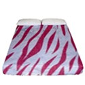 SKIN3 WHITE MARBLE & PINK DENIM (R) Fitted Sheet (California King Size) View1
