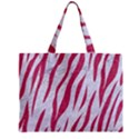 SKIN3 WHITE MARBLE & PINK DENIM (R) Zipper Mini Tote Bag View1