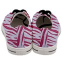 SKIN3 WHITE MARBLE & PINK DENIM (R) Men s Low Top Canvas Sneakers View4