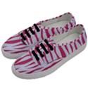 SKIN3 WHITE MARBLE & PINK DENIM (R) Men s Classic Low Top Sneakers View2