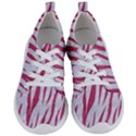 SKIN3 WHITE MARBLE & PINK DENIM (R) Women s Lightweight Sports Shoes View1
