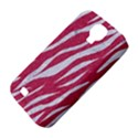 SKIN3 WHITE MARBLE & PINK DENIM Samsung Galaxy S4 Classic Hardshell Case (PC+Silicone) View4