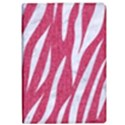 SKIN3 WHITE MARBLE & PINK DENIM iPad Air Flip View1