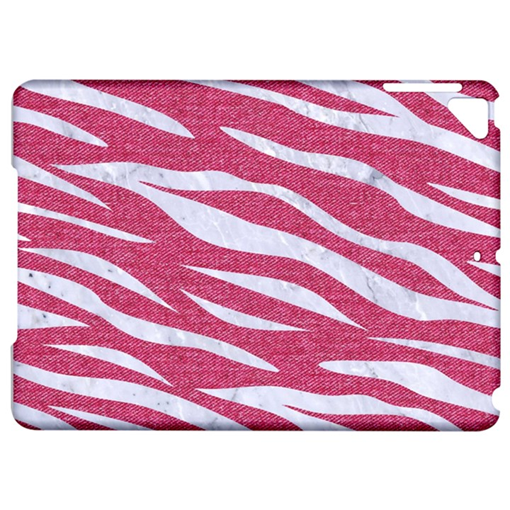 SKIN3 WHITE MARBLE & PINK DENIM Apple iPad Pro 9.7   Hardshell Case