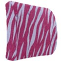 SKIN3 WHITE MARBLE & PINK DENIM Back Support Cushion View2