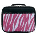 SKIN3 WHITE MARBLE & PINK DENIM Lunch Bag View1
