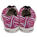 SKIN3 WHITE MARBLE & PINK DENIM Men s Low Top Canvas Sneakers View4