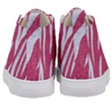 SKIN3 WHITE MARBLE & PINK DENIM Kid s Mid-Top Canvas Sneakers View4